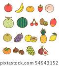 水果什錦有機水果材料 54943152