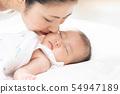 家庭媽媽和寶寶 54947189