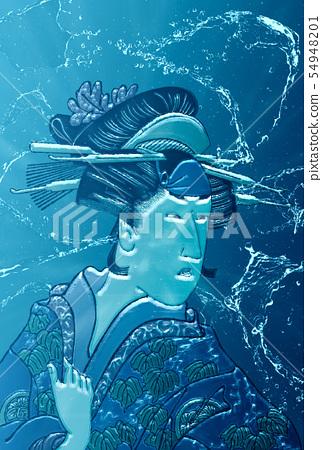 浮世繪女人18水版 54948201