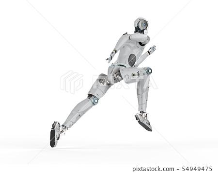 robot jumping or running 54949475