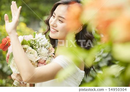 여성 신부 이미지 54950304