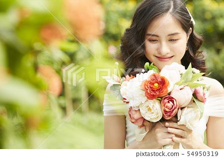 女性新娘形象 54950319