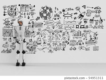 robot writing plan 54951311