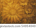 Background material Japanese pattern 54954040