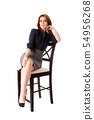 Beautiful business woman 54956268