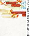 วัสดุพื้นหลัง - สไตล์ญี่ปุ่น - ญี่ปุ่นสมัยใหม่ - ทอง - ใบไม้ร่วง - ใบไม้ร่วง 54957203