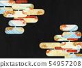วัสดุพื้นหลัง - สไตล์ญี่ปุ่น - ญี่ปุ่นสมัยใหม่ - ทอง - ใบไม้ร่วง - ใบไม้ร่วง 54957208