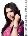 Happy Indian Customer Service Representative 54958933