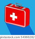 first aid box medical and equipment to help  54960282