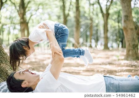 家庭生活方式公園 54961462