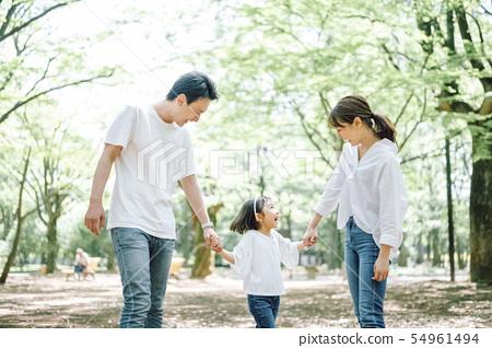 家庭生活方式公園 54961494