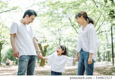 สวนไลฟ์สไตล์ครอบครัว 54961527