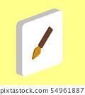 ink pen computer symbol 54961887