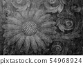 Background material Japanese pattern 54968924