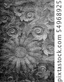 Background material Japanese pattern 54968925