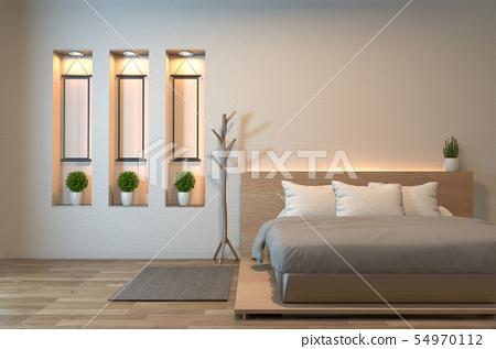 Modern zen peaceful Bedroom. japan style bedroom 54970112