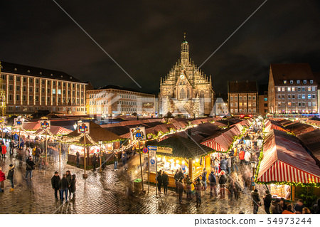 Nuremberg Christmas Market.Germany Nuremberg Christmas Market Stock Photo 54973244