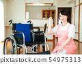 護理高級女助手看護人 54975313