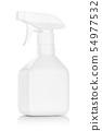 white plastic spray bottle isolated on white 54977532