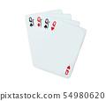 Pocket Q Isolated on white background 54980620
