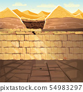 Ancient Egypt pharaoh underground lost tomb 54983297