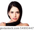 Beauty face and hair 54993447