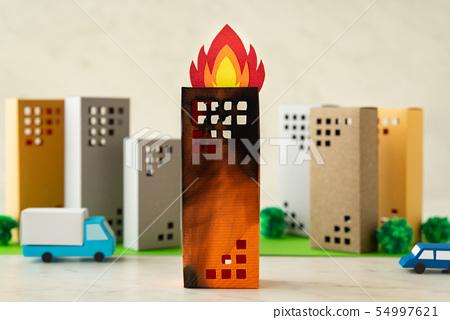 화재 화재 빌딩 아파트 고층 아파트 타워 아파트 54997621