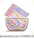 Vector illustration of Marshmallow 54998918
