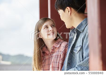 커플,연애,데이트,여행,관광,한옥,한국전통,경복궁,종로구,서울 55000940