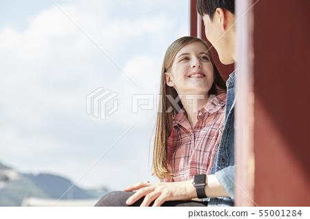 커플,연애,데이트,여행,관광,한옥,한국전통,경복궁,종로구,서울 55001284