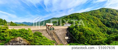 Kamiura Dam Panorama [Nagasaki City, Nagasaki Prefecture] 55007636
