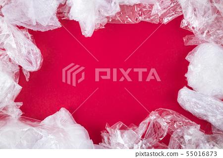 Plastic waste frame. 55016873