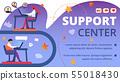 Support Center Technical Service Horizontal Banner 55018430