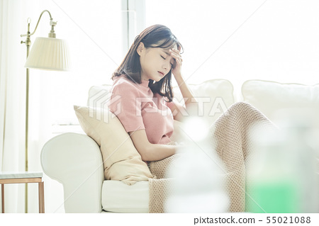 女性身體狀況問題 55021088