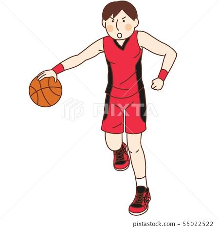 Basketball player (male) 55022522