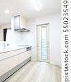 新建住房LDK的系統廚房 55023549