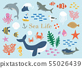 海生物例證集合 55026439
