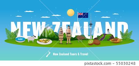 Tour New Zealand Composition 55030248