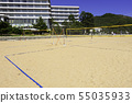 岡山縣沙灘排球場和Diamond Shibukawa Marine Hotel Shibukawa Beach Tamano 55035933
