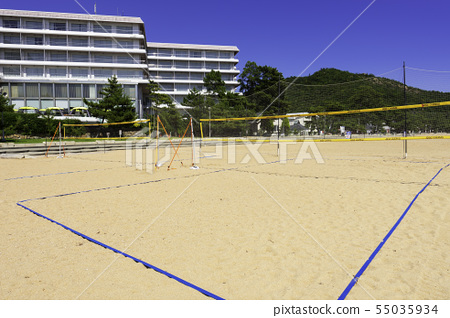岡山縣沙灘排球場和Diamond Shibukawa Marine Hotel Shibukawa Beach Tamano 55035934