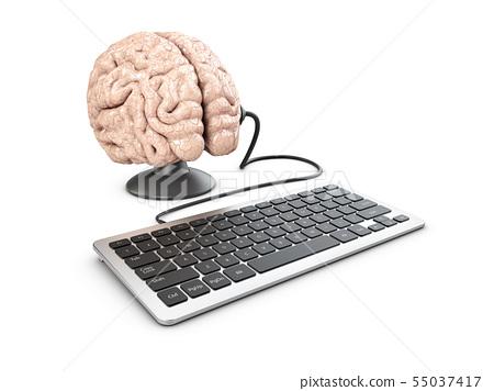 Mind control and propaganda concept 55037417