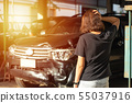 Cars break down from experiencing road accidents. 55037916