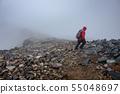 Mountainous landscape (bad weather) 55048697