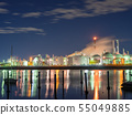 Factory night scene Yokkaichi Mie Prefecture 55049885