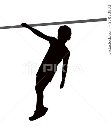 boy body silhouette vector 55053933