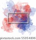 splash watercolor banner, used for banner, 55054896