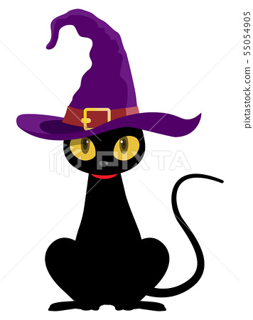 黑貓(萬聖節材料) 55054905