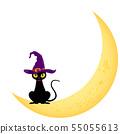 검은 고양이 (할로윈 소재) 55055613