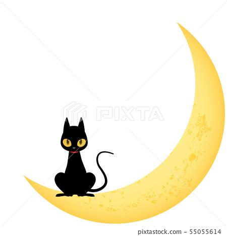 黑貓(萬聖節材料) 55055614