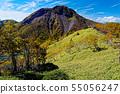 前白根山 능선에서 보는 단풍 햇빛 츠 白 根 山 55056247